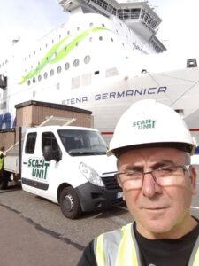 Service on Stena Germanica